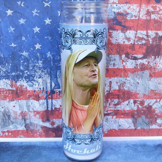 Ed Hochuli prayer candle