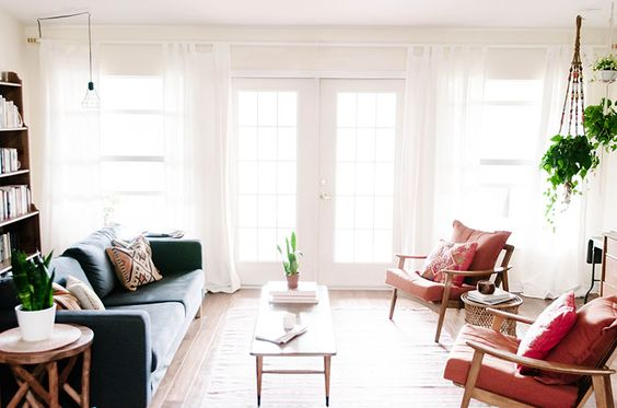 Une maison que mêle parfaitement design mid-century et style bohème – DecouvrirDesign