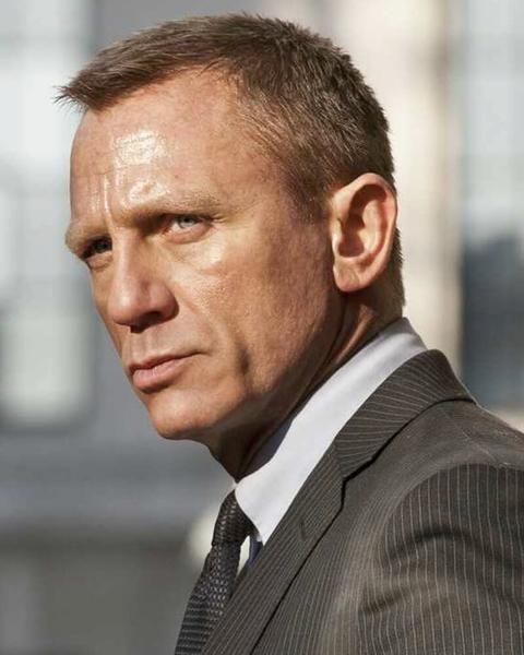 Daniel Craig Hairstyle : daniel, craig, hairstyle, Daniel, Craig, Haircut, James, Bond,, Style,