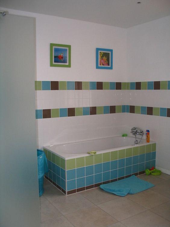 salle de bain enfants - Salle De Bain Enfant Coloree