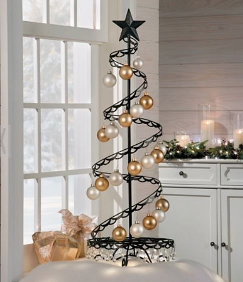 Ornament Trees Spiral Wire Ornament Tree 4 Foot Ornament Display Trees Ornament Tree Display Spiral Christmas Tree Ornament Display