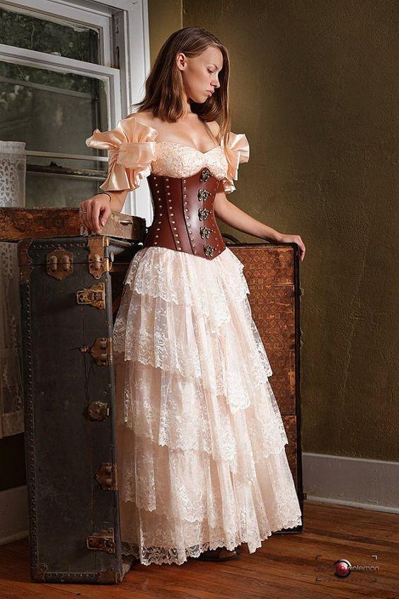 Belles Robes, Corset Faire, Très Beau, Vetement, Costume Steampunk, Steampunk Victorien, Fille Steampunk, Le Style Steampunk, La Mode Steampunk