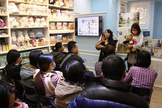2014.12.21揹巾教室-桃紅派對