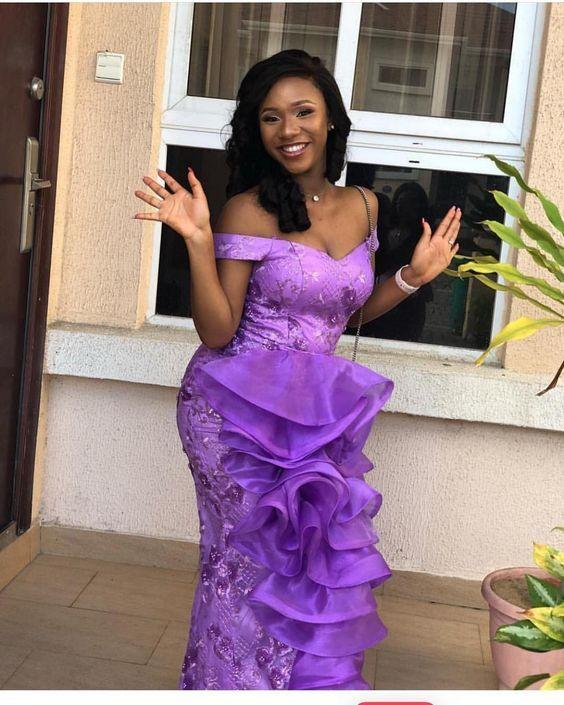 Pin By Kayrule Clothings On Aso Ebi Styles African Lace Dresses Lace Dress Styles African Attire