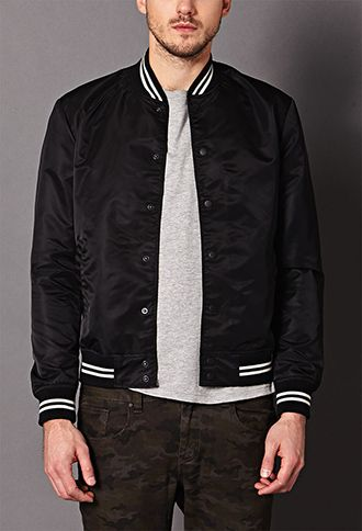 J.Crew - Wallace &amp Barnes Baseball bomber jacket in Japanese