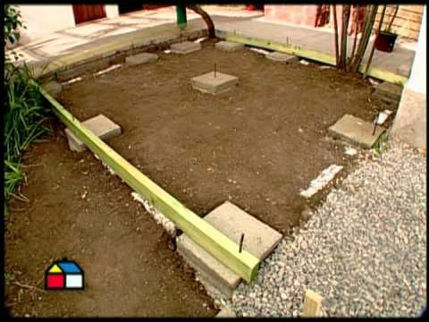 C mo hacer un deck para la terraza diy pinterest for Como hacer una terraza economica