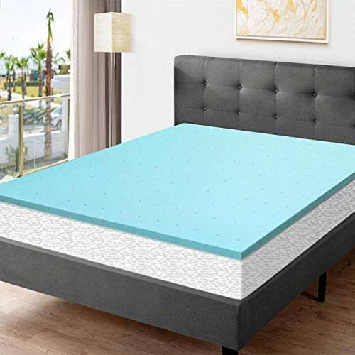 New Momend Queen Memory Foam Mattress Topper 2 Inch Ventilated