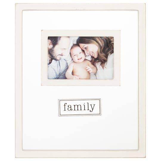 Family 4 X 6 Sentiment Float Frame Home By Studio Decor