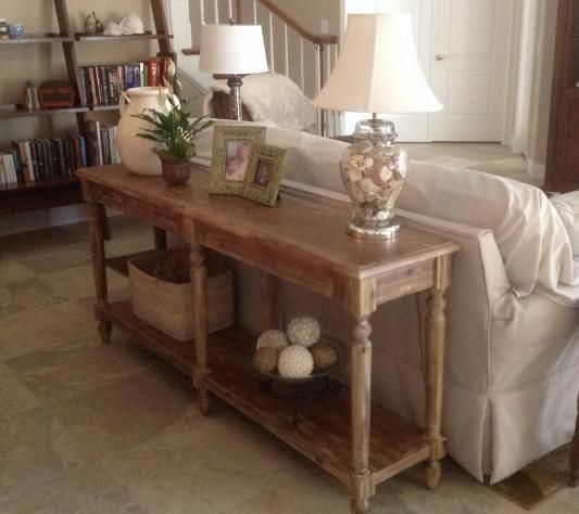 Sofa Table Decor