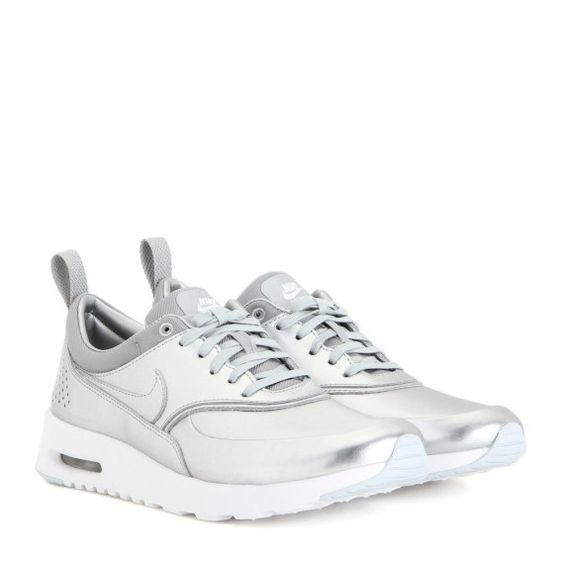 Sneakers Nike Air Max Thea aus Metallic-Leder