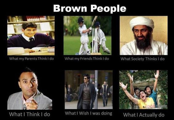 brown people