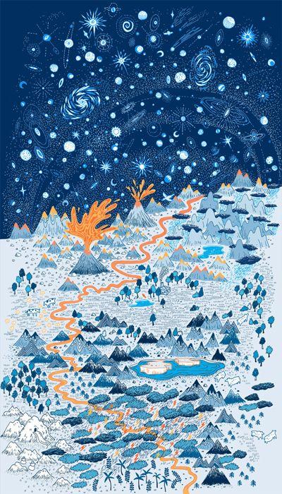 Landscape Poster by Vikachu