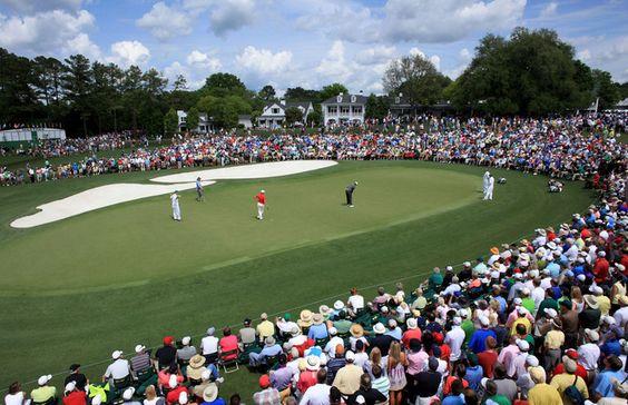 Grateful to witness birdies & eagles during #Masters weekend. #golf