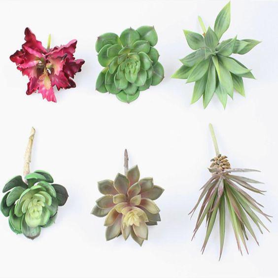 Simulation Sukkulenten / format Pauline Folie Gras Alocasia Aloe Kleinen Bonsai / Diy Von