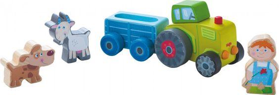 HABA Spielwelt Peters Traktor - Bonuspunkte sammeln, auf Rechnung bestellen, DHL Blitzlieferung!