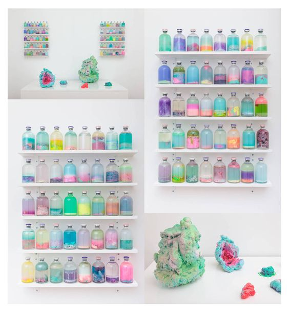 Louise Zhang (born 1991) is a Sydney-based artist whose work starts with the most basic unit of construction: the amorphous, inchoate 'blob.'...  http://www.louisezhang.com/