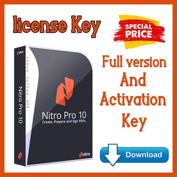 Nitro Pdf Pro 10 Digital Pdf Editor Lifetime License Send Email Ebay Download Gonitro Nitro Pdf Nitro Pdf