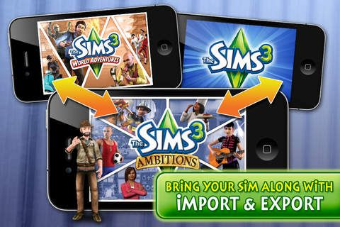 Top iPhone Game #96: The Sims 3 Ambitions - Electronic Arts by Electronic Arts - 03/10/2014