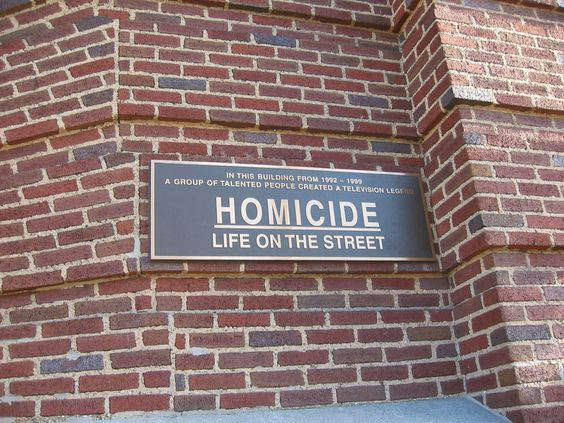 """Homicide, Life on the Streets"" was based in Baltimore"