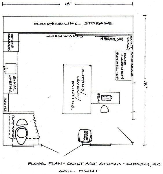 Studio Floor Plans Layout