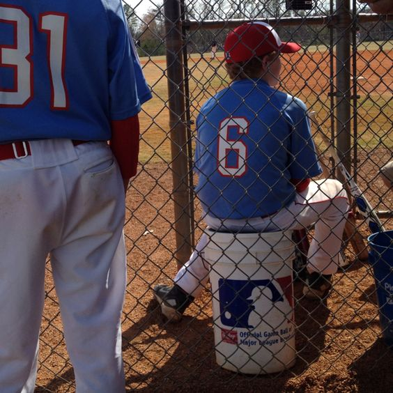 Waiting to be called up for Varsity