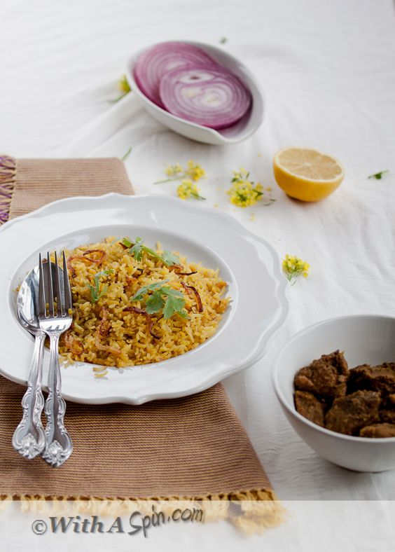 ... Soul Food On A Rainy Day - Mung Bean Bhuna Khichuri With Pickled Onion