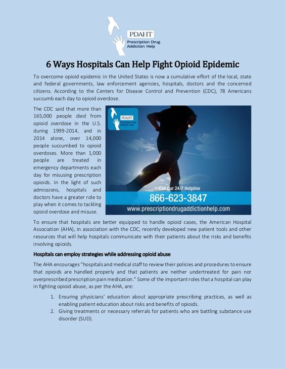 To overcome opioid epidemic in the United States is now a cumulative effort of the local, state and federal governments, law enforcement agencies, hospitals, doctors and the concerned citizens. According to the Centers for Disease Control and Prevention (CDC), 78 Americans succumb each day to opioid overdose.