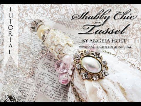 Amazing Shabby Chic Tassel Tutorial One for sale - YouTube