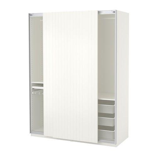 Us Furniture And Home Furnishings Pax Wardrobe Mirrored Wardrobe Doors Ikea Pax