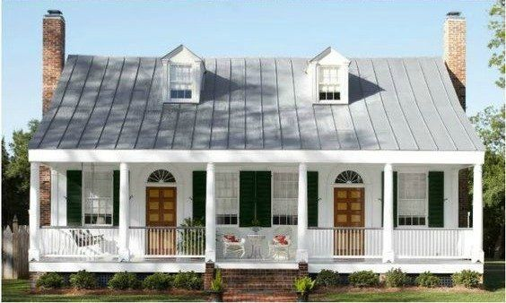 Check Your Entire Roof And You May Find That Your Leak Is Actually A Bunch Of Problem Modern Farmhouse Exterior Farmhouse Exterior Colors Exterior House Colors