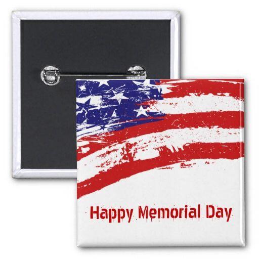 Disintegrating American Flag Pinback Button   $3.00