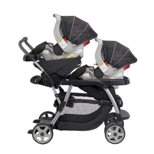 The VISTA now allows for 2 infant car seats, 2 bassinets or 2 ...