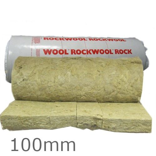 100mm Rockwool Rollbatt Loft Insulation Rock Wool Insulation Loft Insulation Rock Wool Insulation Wool Insulation