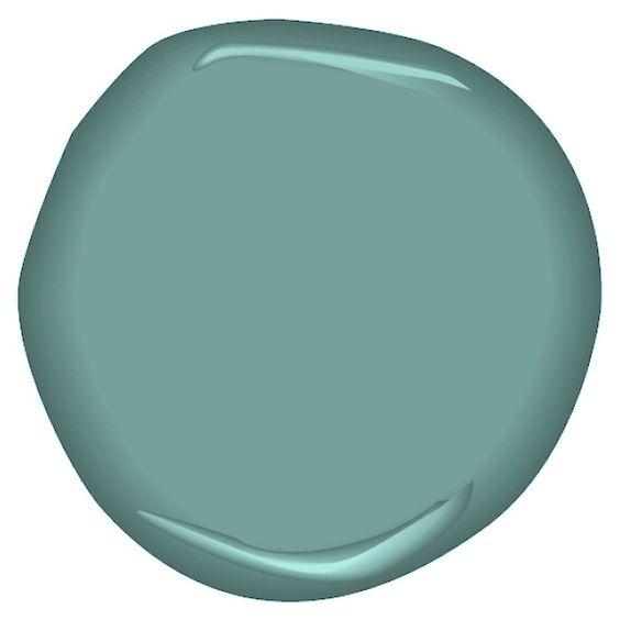 Covington Blue Hc 138 Benjamin Moore: Beautiful, Aqua Color And Accent Colors On Pinterest