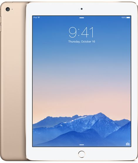 iPad Air 2 Wi-Fi 16GB - Gold - Apple Store (U.S.) $499 (w/ Apple Care)