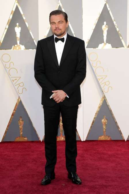 Leonardo DiCaprio attends the 88th Annual Academy Awards in Los Angeles on Feb. 28, 2016. - Jim Smeal/BEI/Shutterstock/Rex USA