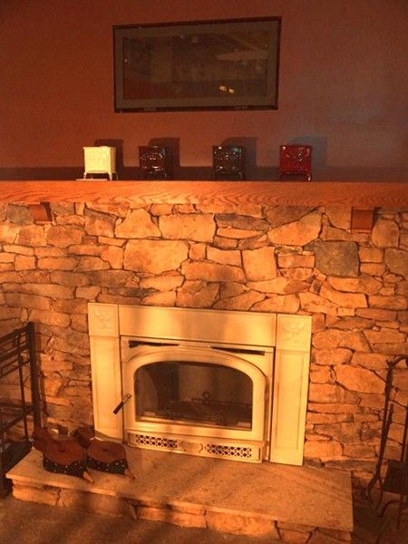 Contemporary Gas Fireplace Fireplaces And Vermont On Pinterest