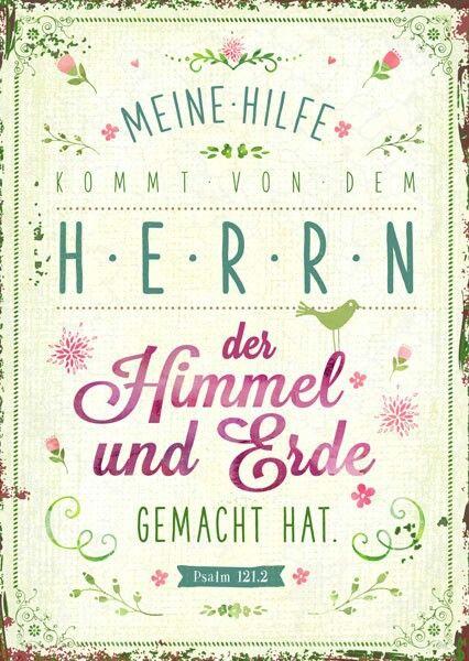 www.segensart.de - meine Hilfe kommt von dem Herrn