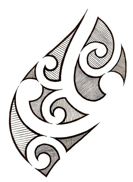 To Draw Easy Polynesian Tribal Designs Insharepics