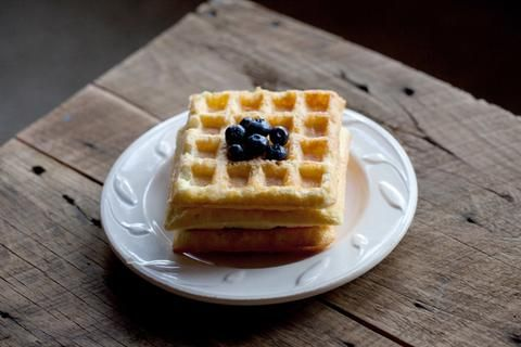 Trim Healthy Mama Protein Waffles make a great S breakfast - see more recipes at Naturally Trim Canada your online Canadian Trim Healthy Mama store.