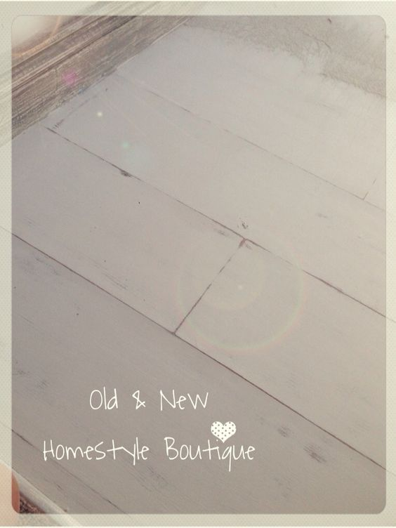 Chalk paint over laminate flooring perfect diy for Painting vinyl floors with chalk paint