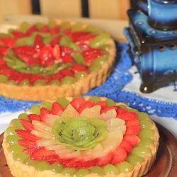 Fruit tart recipe