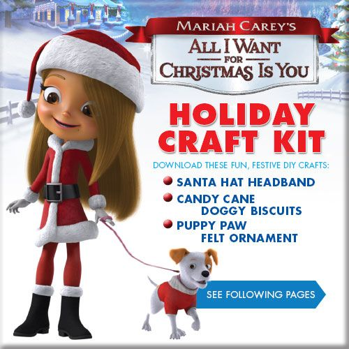 Download Mariah Carey S All I Want For Christmas Is You Holiday Craft Kit Holiday Crafts Christmas Festival Diy Holiday Help