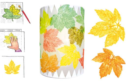 Bl tterdruck pergament laterne laterne pinterest for Boden katalog herbst