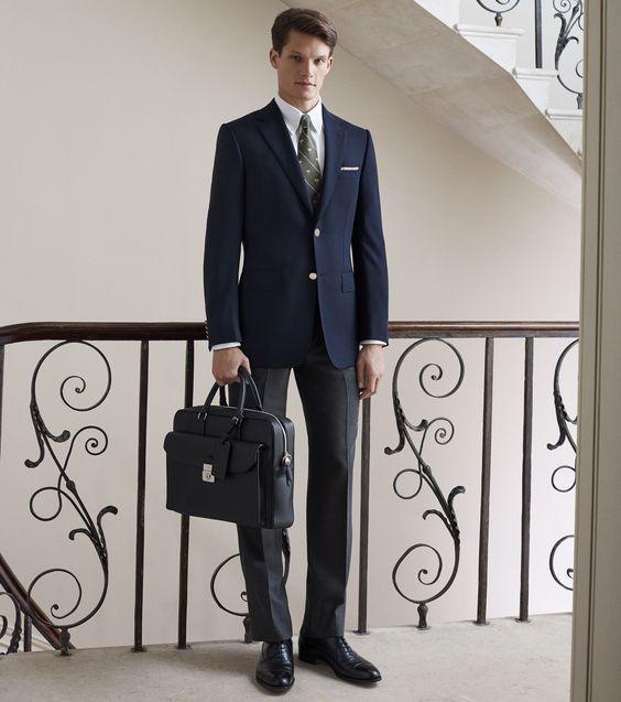ダンヒルのスーツでビジネスシーンをモノにする!魅惑のブランドを知り尽くす!