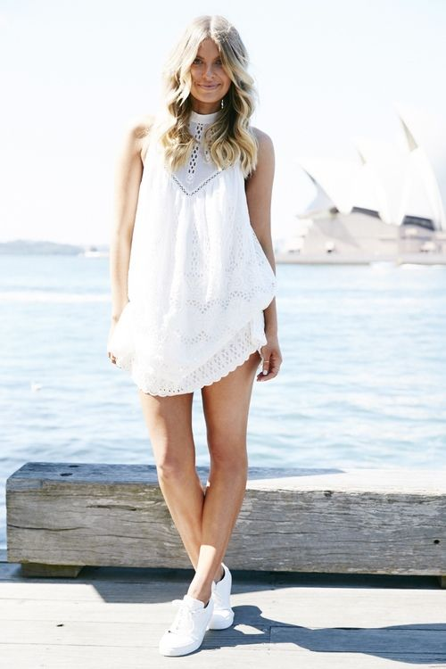 They All Hate Us in a simple summer outfit. theguideonline.com.au