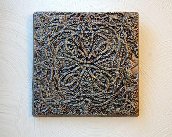 Wall Art Celtic Odyssey Celtic Knot Garden Art Gift