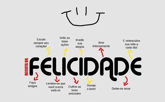 Receita da Felicidade #felicidade