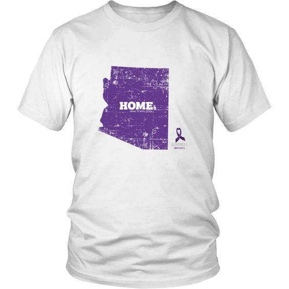 Arizona - Alzheimer's Awareness Home Tee