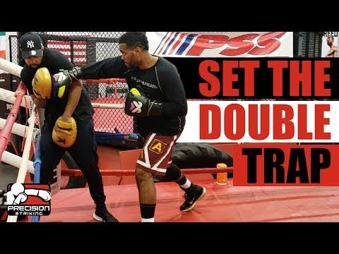 Set The Double Trap In Boxing Coach Anthony Fast Eddie Chambers Youtube Boxing Coach Boxing Training Boxing Workout